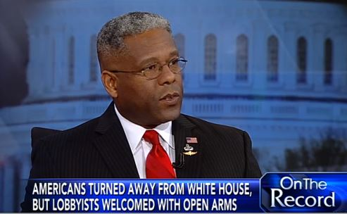 Allen West with Greta